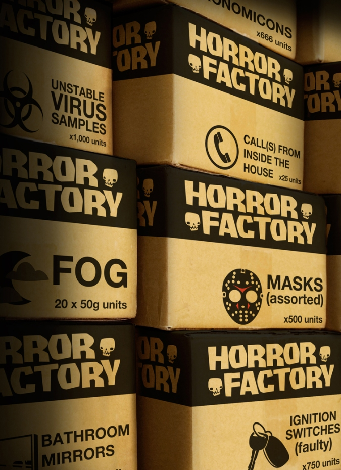 Horror Factory Cover